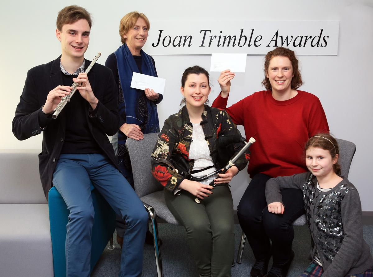Joan Trimble awards