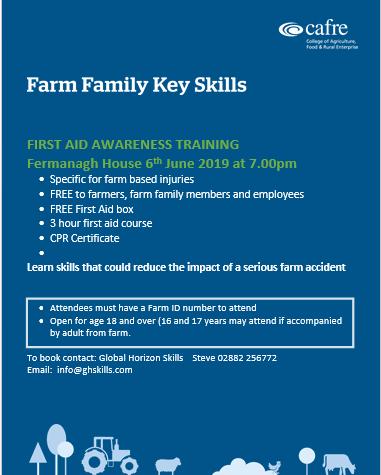 6th June - Farm 1st Aid Course